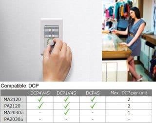 Дистанционное управление с цифровой контрольной панели серии DCP